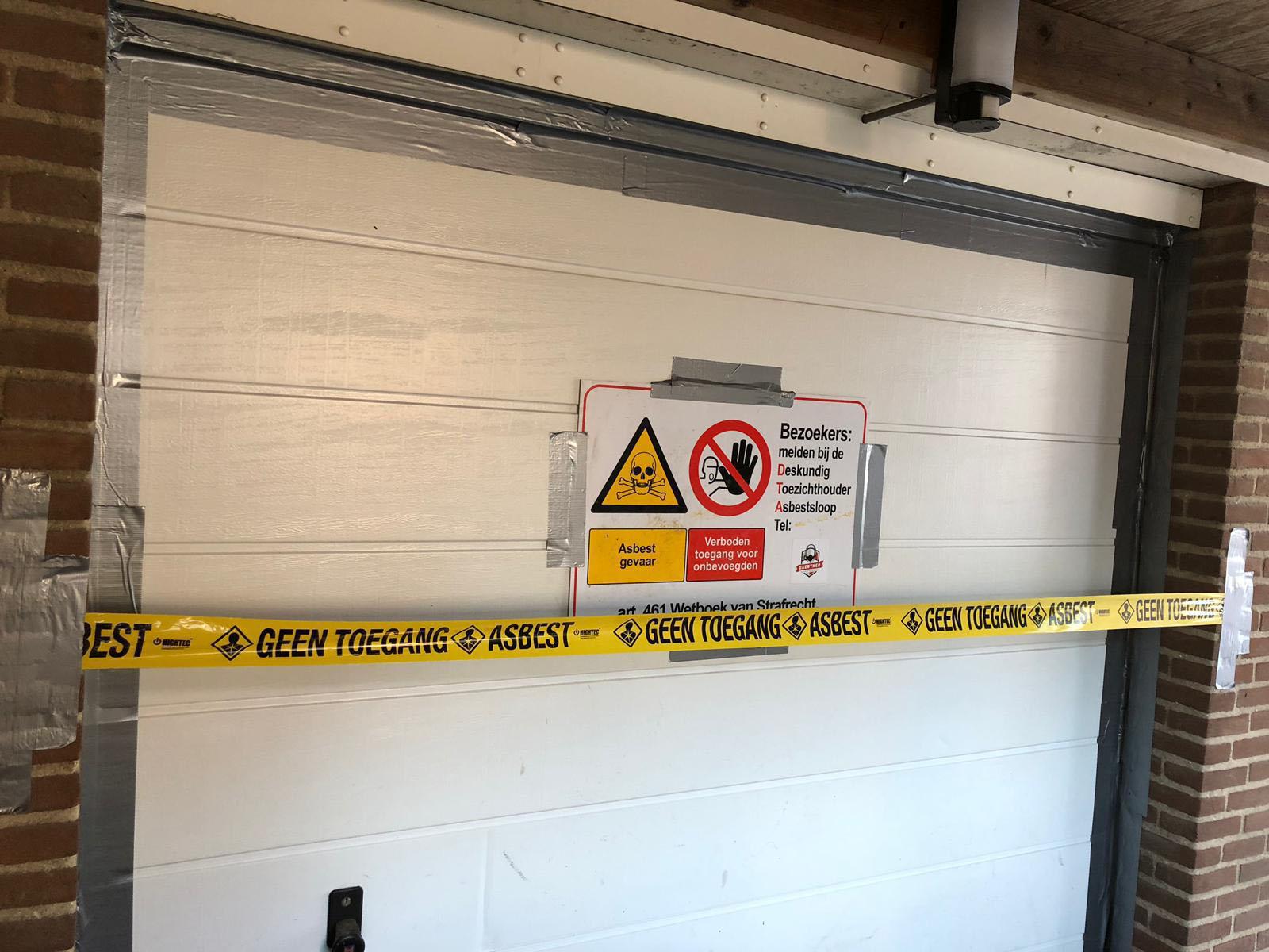 Asbest gevaar