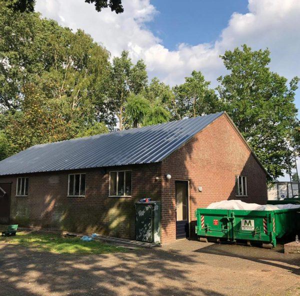 golfplaten dak zonder asbest