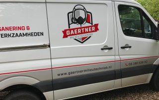 asbest dakschot verwijderen door Gaertner Milieutechniek