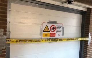 asbest verwijderen verplicht